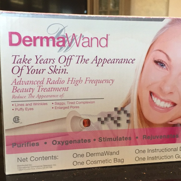 Derma Wand Accessories Hi Frequency Skin Treatment Poshmark